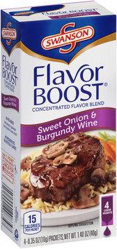 Swanson® Flavor Boost® Sweet Onion & Burgundy Wine 4-0.35 oz. Packets