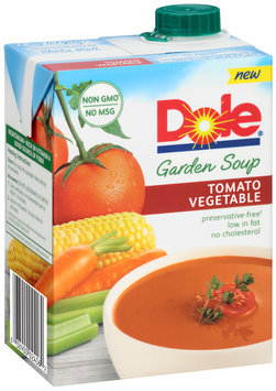 Dole® Tomato Vegetable Garden Soup 26 oz. Aseptic Pack