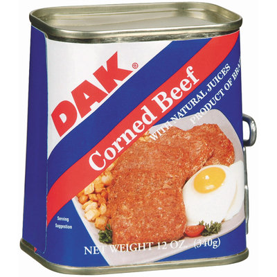 Dak W/Natural Juices Canned Corned Beef 12 Oz Can