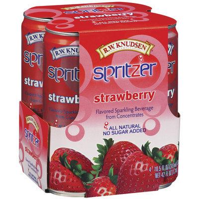 R.W. Knudsen Strawberry 10.5 Oz Spritzer 4 Ct Pack