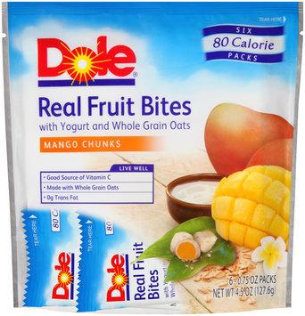 Dole Real Fruit Bites Mango Chunks