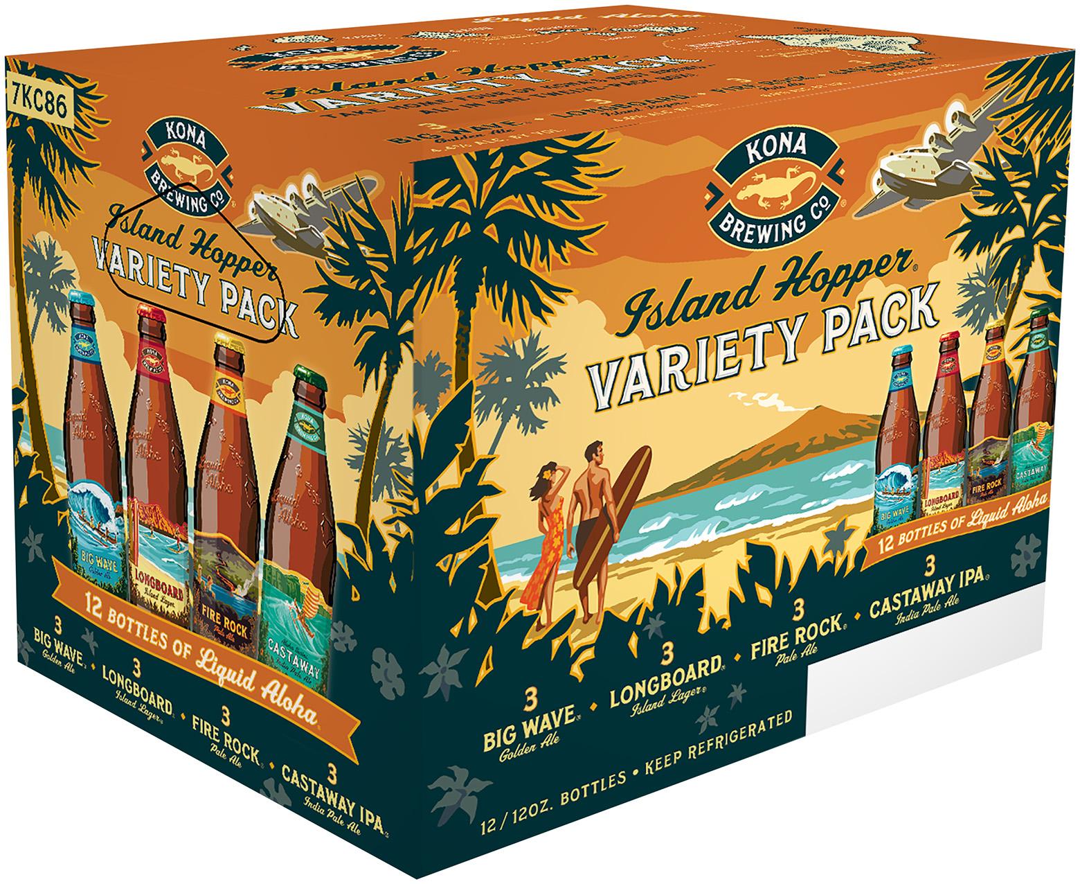 Kona Brewing co® Island Hopper® Variety Pack 112