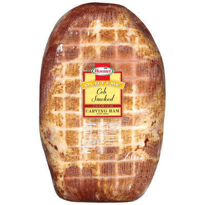 HORMEL Cob Smoked Premium Carving Ham   WRAPPER