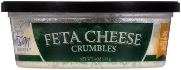 Simply Artisan Reserve™ Feta Cheese Crumbles 4 oz. Tub