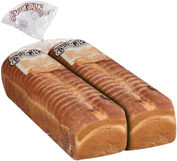 EarthGrains® Split Top White Bakery Bread 2 ct Loaves