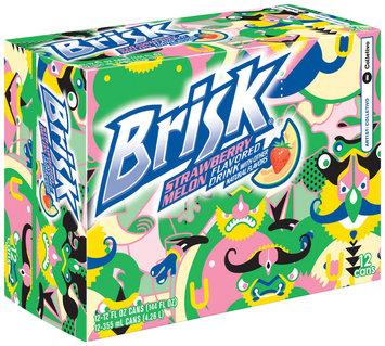 Brisk® Strawberry Melon Flavored Drink 12 Pack 12 fl. oz. Cans