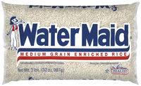 Water Maid Medium Grain Enriched Rice  2 Lb Bag