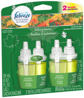 Febreze NOTICEables Falling Leaves Dual Scented Oil Refill Value Pack 2-0.879 fl. oz. Carded Pack