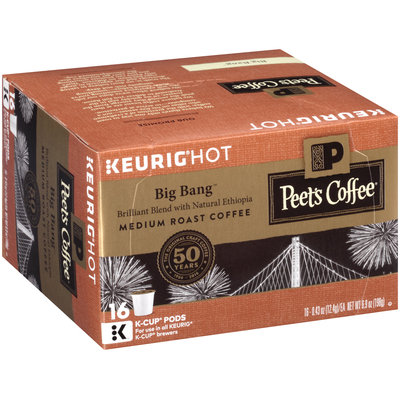 Peet's Coffee® Big Bang™ Medium Roast Coffee K-Cup® Pods 16-0.43 oz. Pods