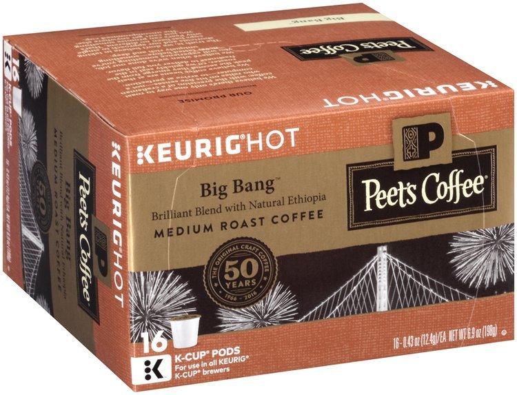Peet's Coffee® Big Bang™ Medium Roast Coffee K-Cup® Pods 16-0.43 oz. Pods