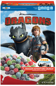 DreamWorks Dragons Adventure Crunch™ Cereal 13 oz. Box