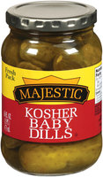 Majestic Kosher Baby Dill Pickles