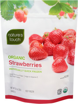 Nature's Touch™ Organic Strawberries 32 oz. Bag