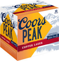 Coors® Peak Copper Lager 12-12 fl. oz. Bottles