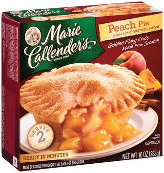 Marie Callender's® Peach Pie Topped with Cinnamon Sugar 10 oz. Box