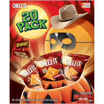 Cheez-It® Original Baked Snack Crackers 20-1 oz. Packages