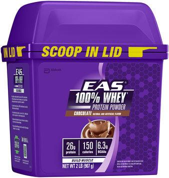 EAS® 100% Whey Chocolate Protein Powder 2 lb Tub