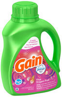 Gain with Febreze Freshness HE Thai Dragon Fruit Scent Liquid Laundry Detergent 40 fl. oz. Bottle