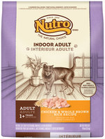 Nutro® Indoor Adult Chicken & Whole Brown Rice Recipe Cat Food 14 lb. Bag