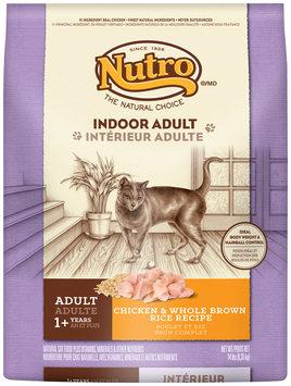 Nutro® Indoor Adult Chicken & Whole Brown Rice Recipe Cat Food 14 lb. Bag