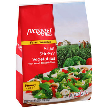 Pictsweet Farms® Farm Favorites Asian Stir-Fry Vegetables with Sweet Teriyaki Glaze 20 oz. Stand Up Bag