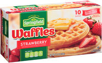 Springfield® Strawberry Waffles 12.3 oz. Box