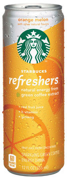 Starbucks® Refreshers™ Orange Melon Energy Drink 12 fl. oz. Can