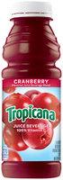 Tropicana Cranberry Juice 15.2 Oz Plastic Bottle