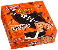 Friendly's® Milk Chocolate Reese's® Peanut Butter Cups® Premium Football Ice Cream Cake 36 fl. oz. Box