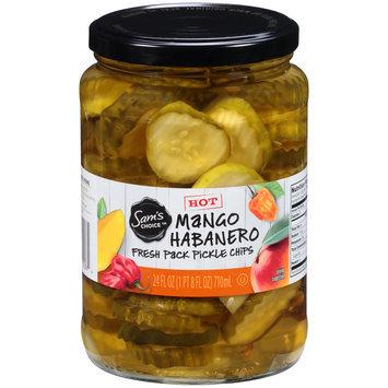 Sam's Choice™ Mango Habanero Fresh Pack Pickle Chips 24 fl. oz. Jar