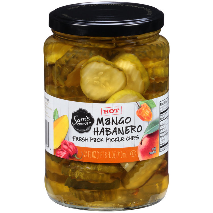 Sam's Choice™ Mango Habanero Fresh Pack Pickle Chips