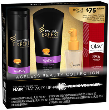 Pantene AgeDefy Expert Collection Holiday Gift Set