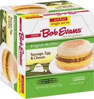 Bob Evans® Sausage, Egg & Cheese English Muffins