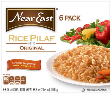 Near East Original Rice Pilaf Mix 36.5 Oz 6 Pack Box