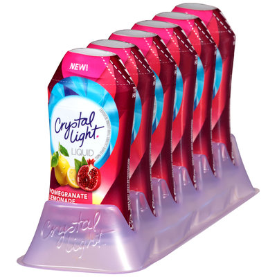 Crystal Light Liquid Pomegranate Lemonade Drink Mix 1.62 fl. oz. Bottle