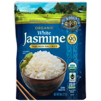 Lundberg Family Farms® Organic White Jasmine Rice 8 oz. Pouch