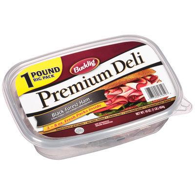 Buddig™ Premium Deli Black Forest Ham 16 oz. Tub
