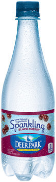 Deer Park® Black Cherry Sparkling Natural Spring Water