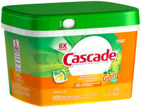 Cascade® ActionPacs™ With The Scent Of Gain® Dishwasher Detergent