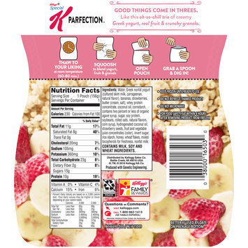 Special K® Kellogg's Parfection™ Strawberry Banana Greek Yogurt Parfait