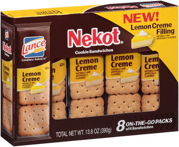Lance® Nekot® Lemon Creme Cookie Sandwiches