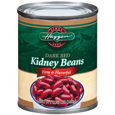 Haggen Dark Red Kidney Beans 8.75 Oz Can