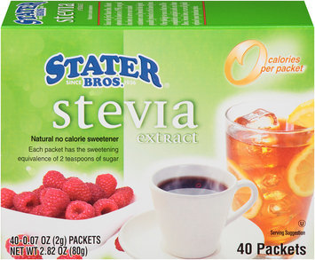 Stater® Bros. Stevia Extract 2.82 oz. Box