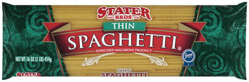 Stater Bros. Thin Spaghetti Enriched Macaroni Product 16 Oz Bag