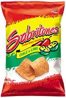 Sabritas® Sabritones® Chile & Lime Flavored Puffed Wheat Snacks 2 oz. Bag