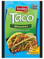 Durkee Taco Original Seasoning Mix 1.12 Oz Packet