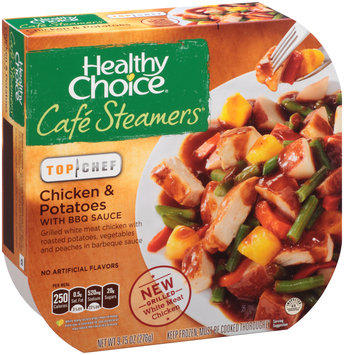 Healthy Choice® Cafe Steamers® Top Chef Chicken & Potatoes with BBQ Sauce 9.75 oz. Sleeve