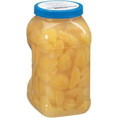 Fruits of Four Seasons Orange Slices 128 oz. Plastic Jar