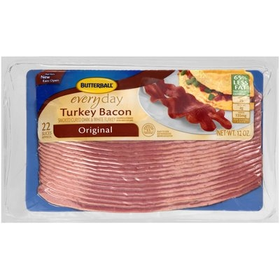 Butterball® Everyday Original Turkey Bacon, 12 oz. package