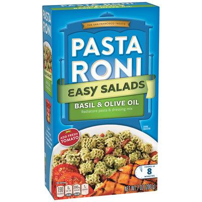 Pasta Roni® Easy Salads Basil & Olive Oil Radiatore Pasta & Dressing Mix 7 oz. Box